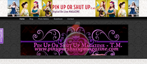 www.pinuporshutupmagazine.com by VisualEyeCandy
