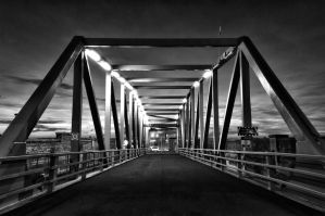 Bridge Gate to the River by SteRawlinson