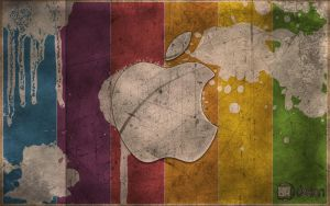 New Vintage Apple logo by ANDR3KO-FOTOGRAPHIE