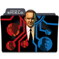 Agents Of S.H.I.E.L.D. : TV Series Folder Icon v2 by DYIDDO
