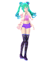 TDA Crystal spring Miku {15+ Watchers} by StressaSan