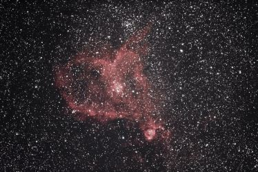 Heart nebula by alkhor