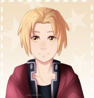 [C] Edward Elric by Uni-colours