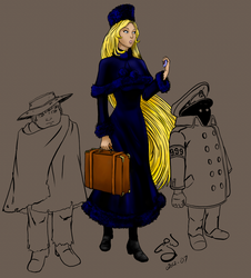 Galaxy Express 999 - Unfinished by CloudlinerCorona