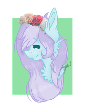 another drawing of my oc! by Purplefire170