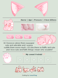 Pink Kitten   Non-Core Page Codes   F2U by LunaYing