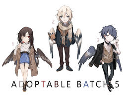 (CLOSED) Auction Adoptable Batch 5 by M1l1