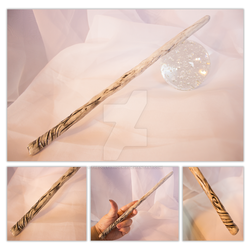 Fading Wood Wand by thedustyphoenix