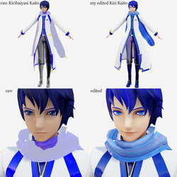 Kiribaiyasi Kaito in Raycast (raw and edit) by Nintendraw