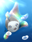 Opal the Fishie by Nutmegchan