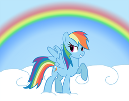 Rainbow Dash is Awesome by CSMLP