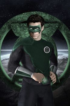 Kyle Rayner Green Lantern Poster by Rated-R4-Ryan