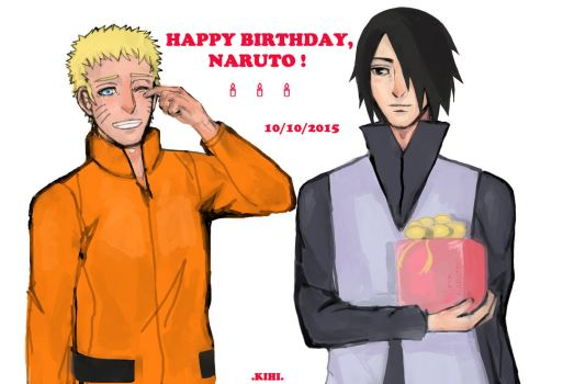 Happy Birthday, Naruto! 2015 by Kihiart