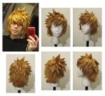 Roxas or Ventus wig by Malindachan