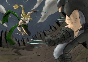Battle of Claws no.1 by cjcenteno
