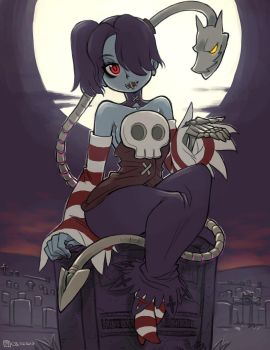 022513: Squigly and Leviathan by crybringer