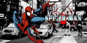 Ultimate Spider-Man poster by stick-man-11