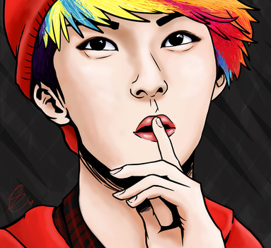 Finished ver Sehun by Box-of-YEHET