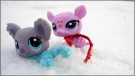 Playing in the Snow by NLGaz