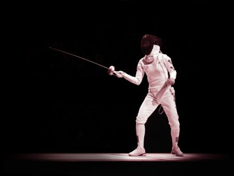 En Garde! (Fencing at the London 2012 Olympics) by Sarahorsomeone