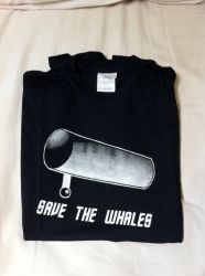 Save The Whales Shirt by AerialSilks