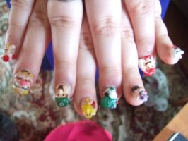 Mario Nails by MeiMurphy