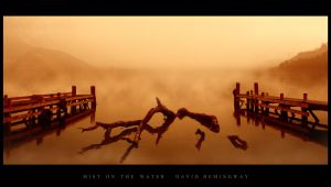 Mist on the water by shadowless