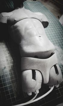 Work In Progress Bjd Body 70cm Male Test 010 by Rosen-Garden
