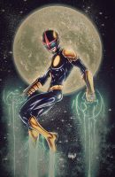 Nova by V Marion and J Graham. Colours by CB. by CB-ComicArt