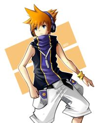 Sakuraba Neku (The World Ends With You) by Nataly2