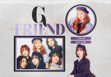PACK PNG: GFRIEND #03 by visualdesign0505