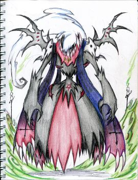 Darkrai evolved form by winddragon24
