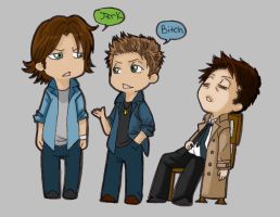 Team Free Will by Foxysuji