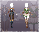 [Close] Adoptable Outfit Auction 75-76 by Kolmoys
