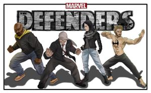 The Defenders by Gilliland35