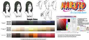 Naruto OC Guide: Hair Color and Styles by anniberri
