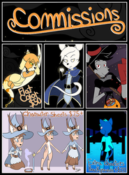 Autumn Commissions ~5 Slots~ by Synchro-Centaur