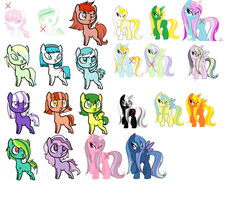 Left Over Adoptables OPEN by StarDust-Adoptables