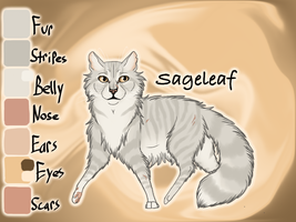 Sageleaf of SkyClan - Sasha's Calling by Jayie-The-Hufflepuff