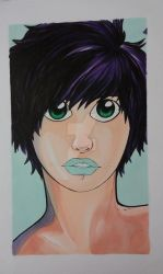 Copic Girl - Playing with Copic Markers by ShotoLuki