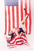 Katie's Patriot Pin Up by KeelyWeisPhotography