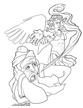 Konstelace 14 19 Advent Coloring Page
