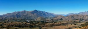 Remarkables Panorama by furryphotos