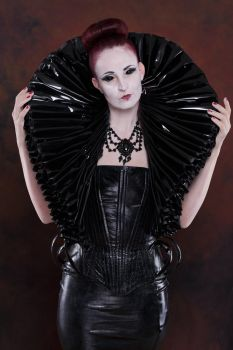 Stock - Gothic Lady big millstone / ruff collar 7 by S-T-A-R-gazer