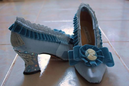 Marie Antoinette Shoes by BenaeQuee