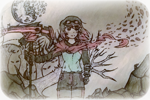 Scarlet Rose (D-Silvereyes OC) *request * by cOmicBrooks