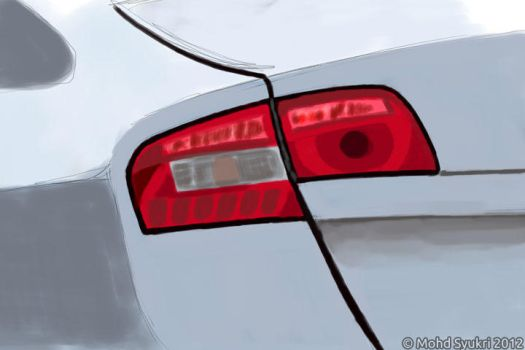 Proton Preve Rear Lamp by real-hybridjunkie