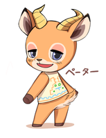 animal crossing Beau by Hyamkeu