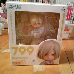 Yuri on Ice Yuri Plisetsky nendoroid by HoshiAnimeStuffs