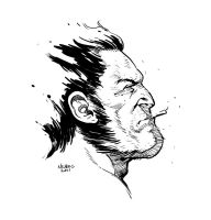Wolverine Sketch by FlowComa